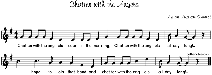 Chatter With The Angels Beth S Notes