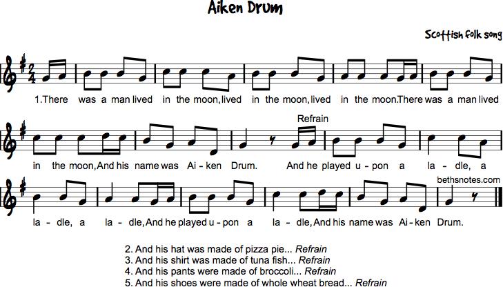 Aiken Drum G