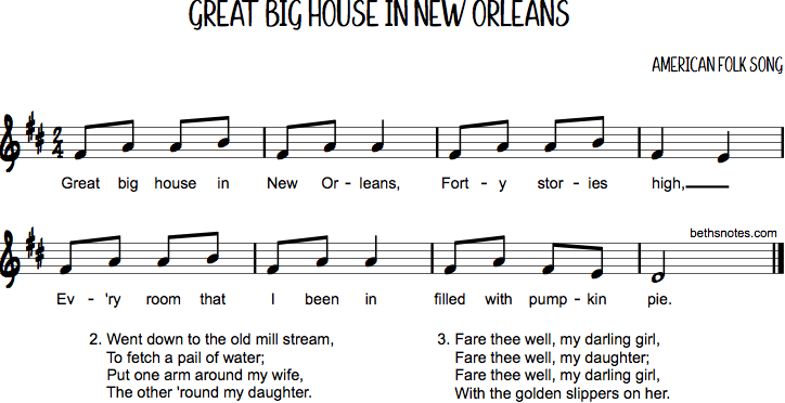 Great Big House In New Orleans Beths Notes