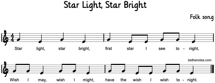 Lyrics containing the term: star-light