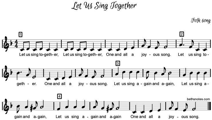 Sing for Us