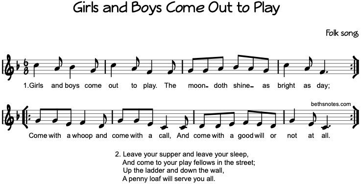 come out and play lyrics