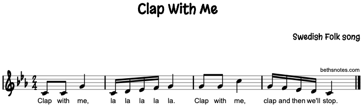 Clap With Me