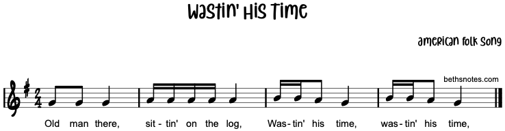 Wastin' His Time