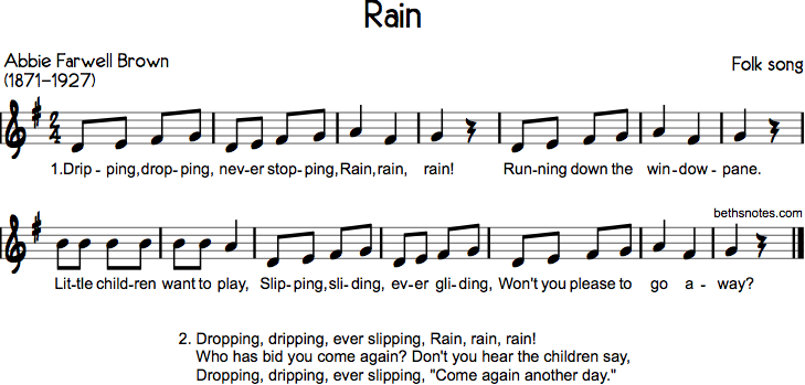Rain Beths Notes
