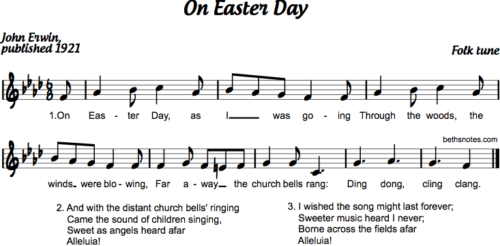 On Easter Day