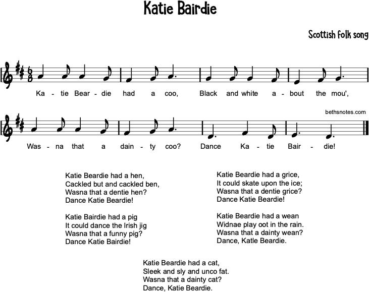 Katie Bairdie - Beth's Notes 1