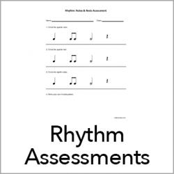 Rhythm Assessments 1st words-250