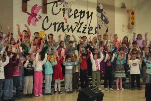 Music Program: Creepy Crawlies / Songs About Bugs
