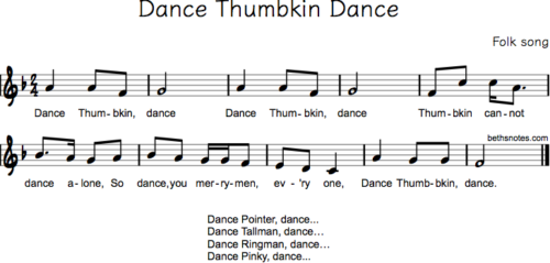 Dance Thumbkin Dance