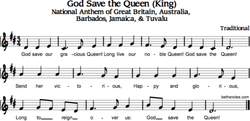 God Save the Queen / King