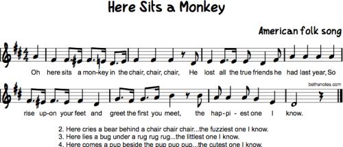 Here Sits a Monkey