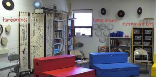 Classroom Instruments - Class Set Up & Storage